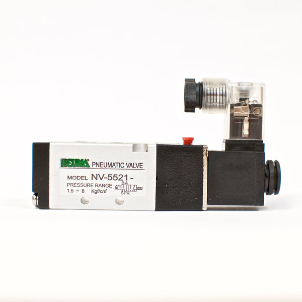 NEUMA Solenoid Valve NV-5521-D2, 2 position, Single coil, 24V, G 1/8""