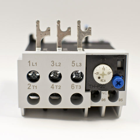 Shihlin TH-P20E thermal overload relay, Amp range: 12 ~ 18A (TH-P20ES)