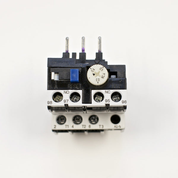 Shihlin TH-P12E thermal overload relay, Amp range: 0.3 ~ 0.5A