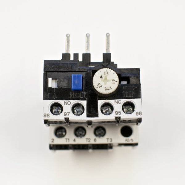 Shihlin TH-P12E thermal overload relay, Amp range: 2.5 ~ 4.1A