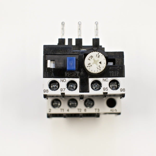 Shihlin TH-P12E thermal overload relay, Amp range: 1.6 ~ 2.6A TH-P12ES