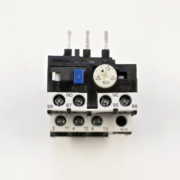 Shihlin TH-P12E thermal overload relay, Amp range: 0.9 ~ 1.5A TH-P12ES