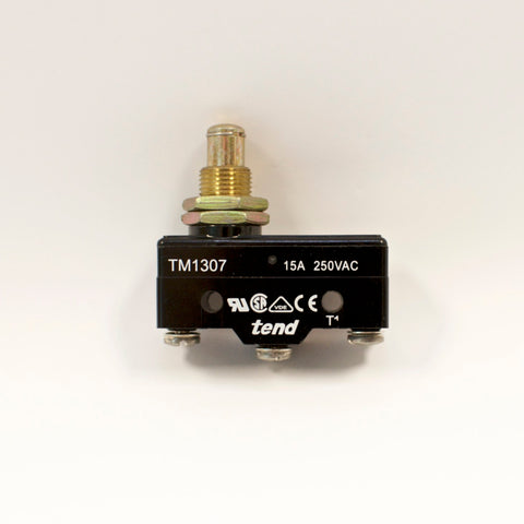 TEND TM1307 Micro Basic Switch, Panel Mount Plunger, 15A 250VAC