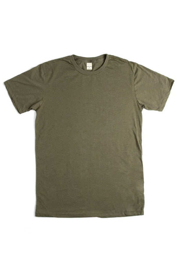 Basic Tee Heather Olive