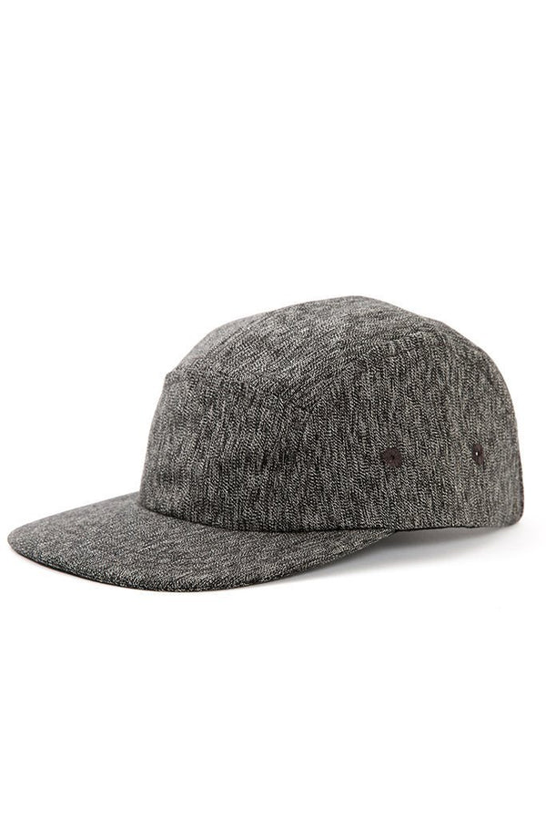 Camper 5 Panel Cap Salt & Pepper
