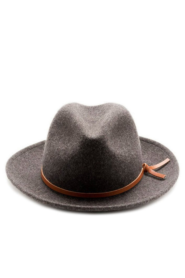 Luke Wool Hat Charcoal