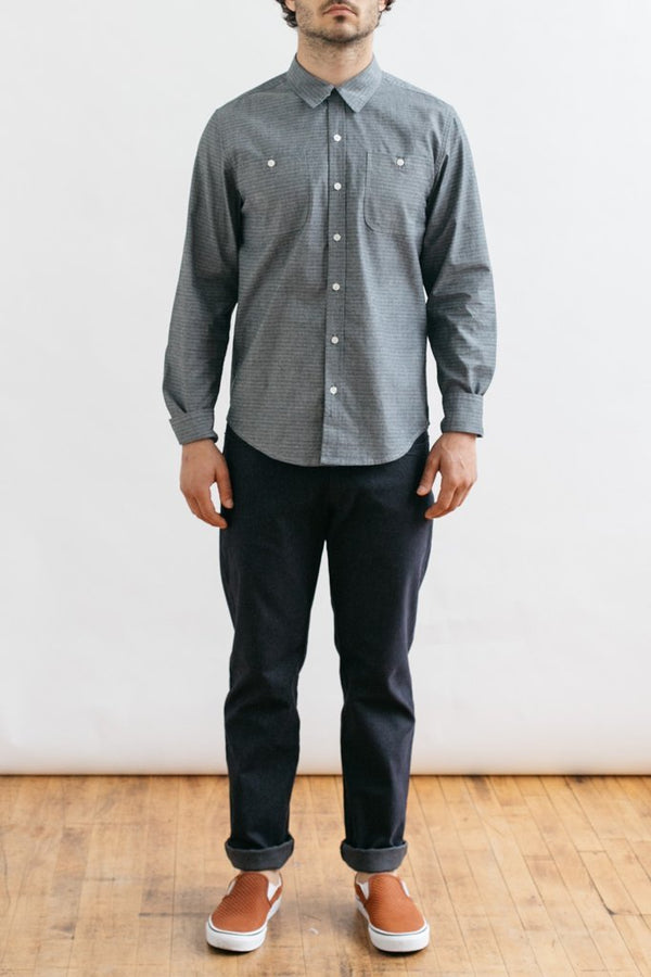 Winslow Tonal Chambray Stripe