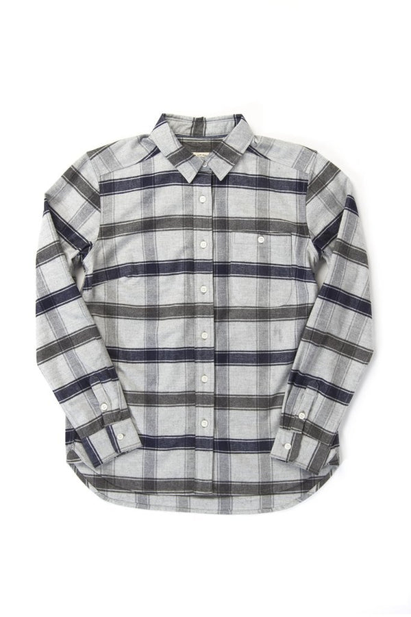 Woodrow Light Grey Plaid