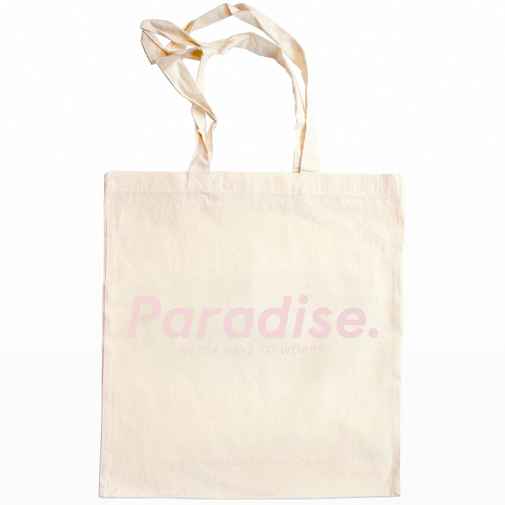 'Neon Pink Paradise' Tote Bag