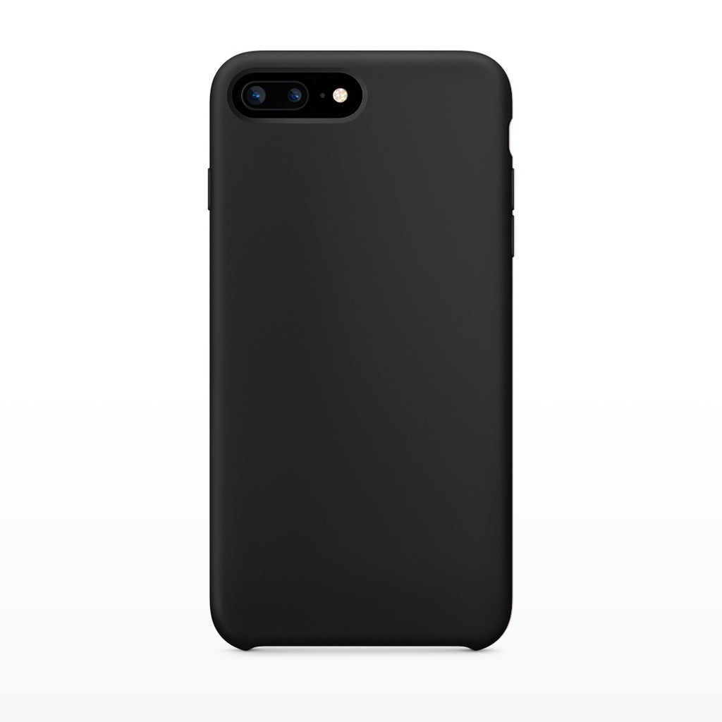 Midnight Black Essentials Collection case Paradise Amsterdam iPhone 7 8 Plus