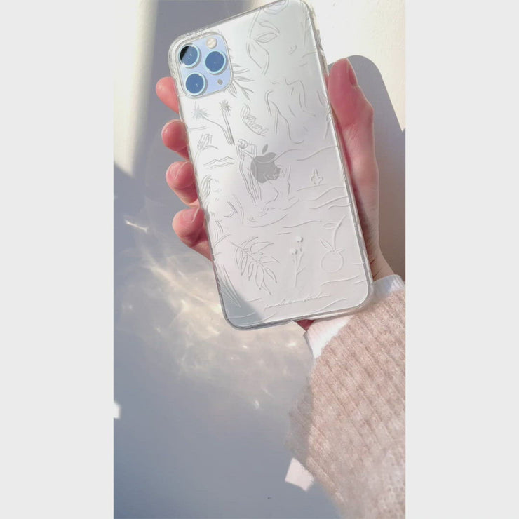 'Tropical Illustrations' Clear Case