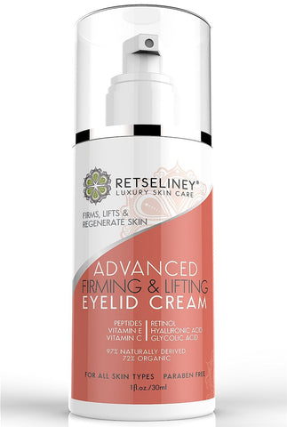 Firming & Lifting Eyelid Cream, Firm Sagging and Drooping Skin on the Upper Eyelids 1oz