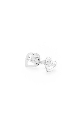Stolen Girlfriends Club - Stolen Heart Script Earrings