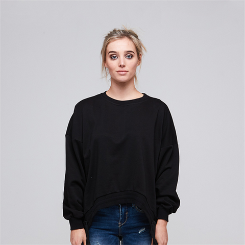 Alaska Tees - Aneka Black Sweater