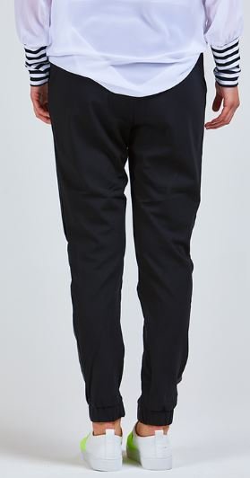 Pretty Basic Ana Pants Black Wet