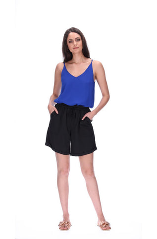 Pretty Basic Katniss Shorts - Longline Two Colours