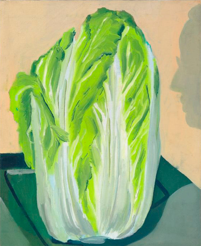 Allison Katz, Cabbage (and Philip) No. 1, 2012