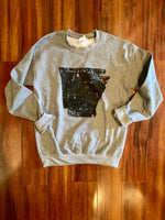 Distressed State Sweatshirt