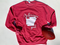 Arkansas Girl Sweatshirt