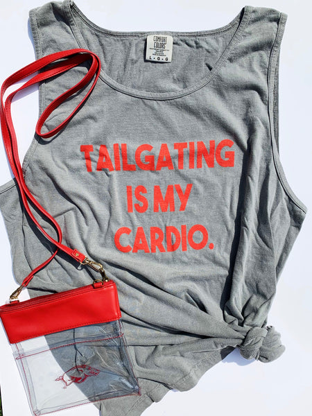 Tailgating Is My Cardio Tank