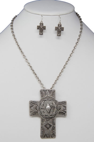 The Vintage Cross Necklace