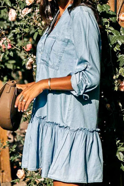 Asheville Denim Dress