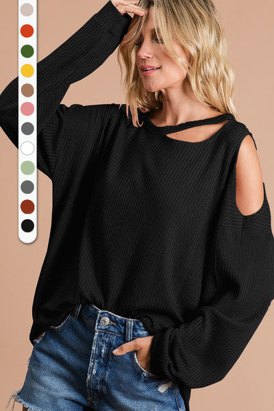 Holly Top in Black