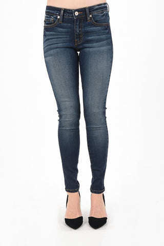 KanCan Ankle Jean (High Rise) Non-Distressed