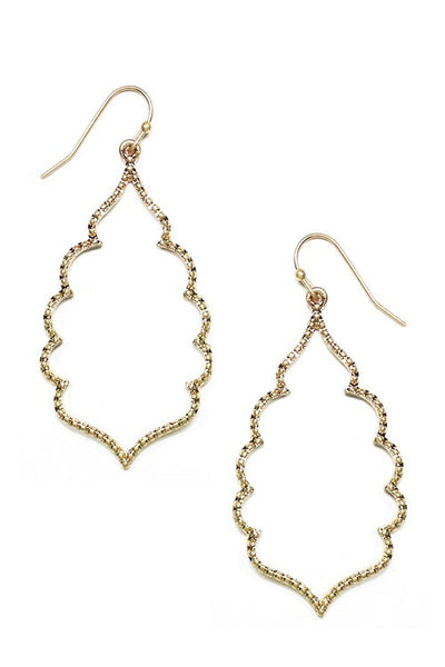 Clara Dangle Earrings (Available in Gold or Silver)