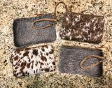 Spotted Cowhide Clutch (Small)