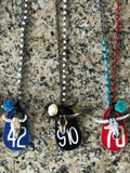 Vintage Cattle Tag Necklaces