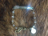 Arrow Bracelet - B2 (Available in Topaz or Pearl)