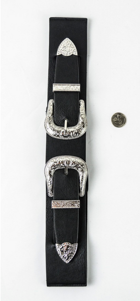 Rueger Buckle Belt (Available in Black)