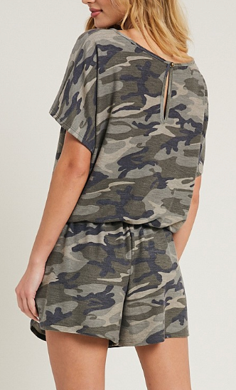 Knox Camouflage Romper