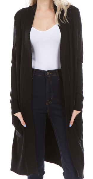 Colley Cardigan in Black