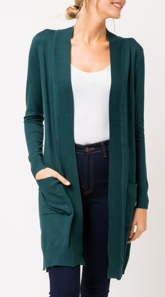 Colley Cardigan in Teal