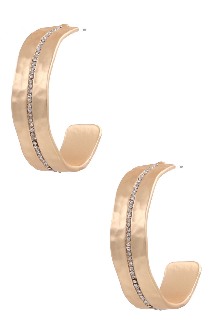 Caliber Gold Hoops