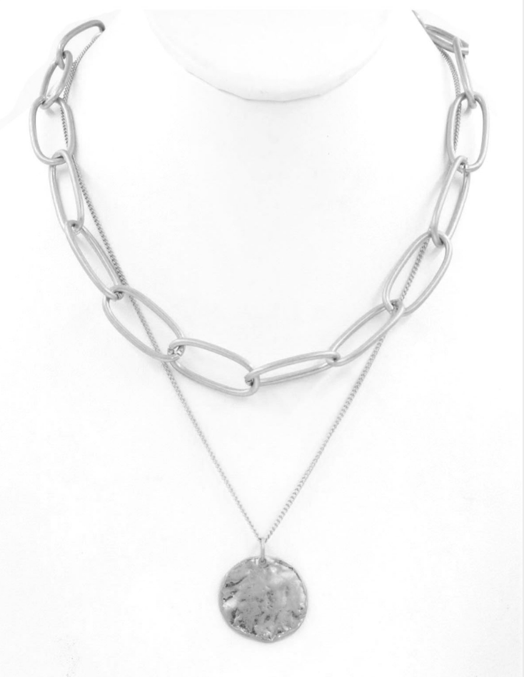 Fleetwood Necklace in Silver