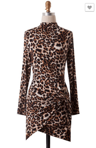 The Mirage Leopard Dress