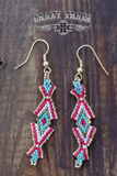 Thunderbabe Seed Bead Earrings