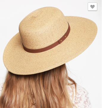 Palm Springs Straw Hat
