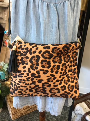 Leopard Crossbody Handbag
