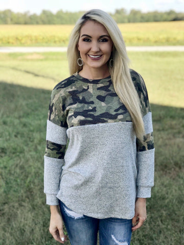 Backwoods Camouflage Top