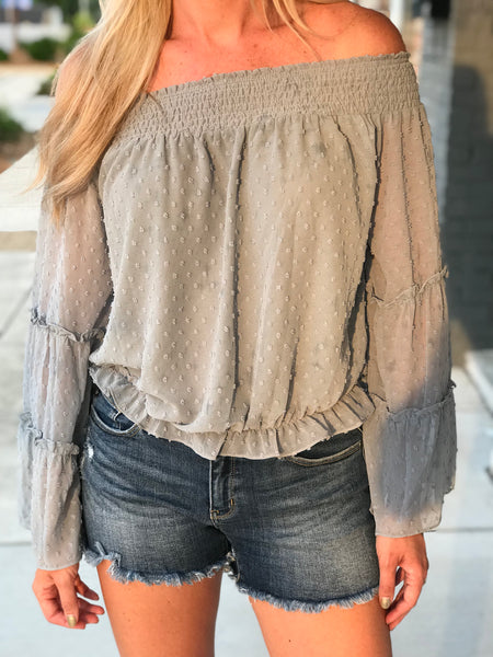 Skyline Off the Shoulder Top