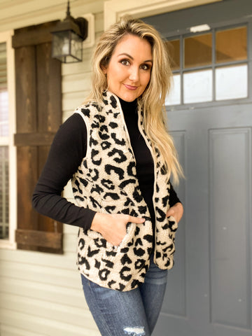 Call of the Wild Leopard Vest