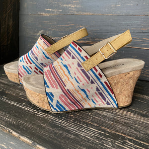 Wander West Aztec Print Wedges