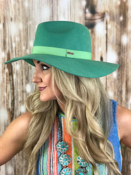 The Tucson Turquoise Hat