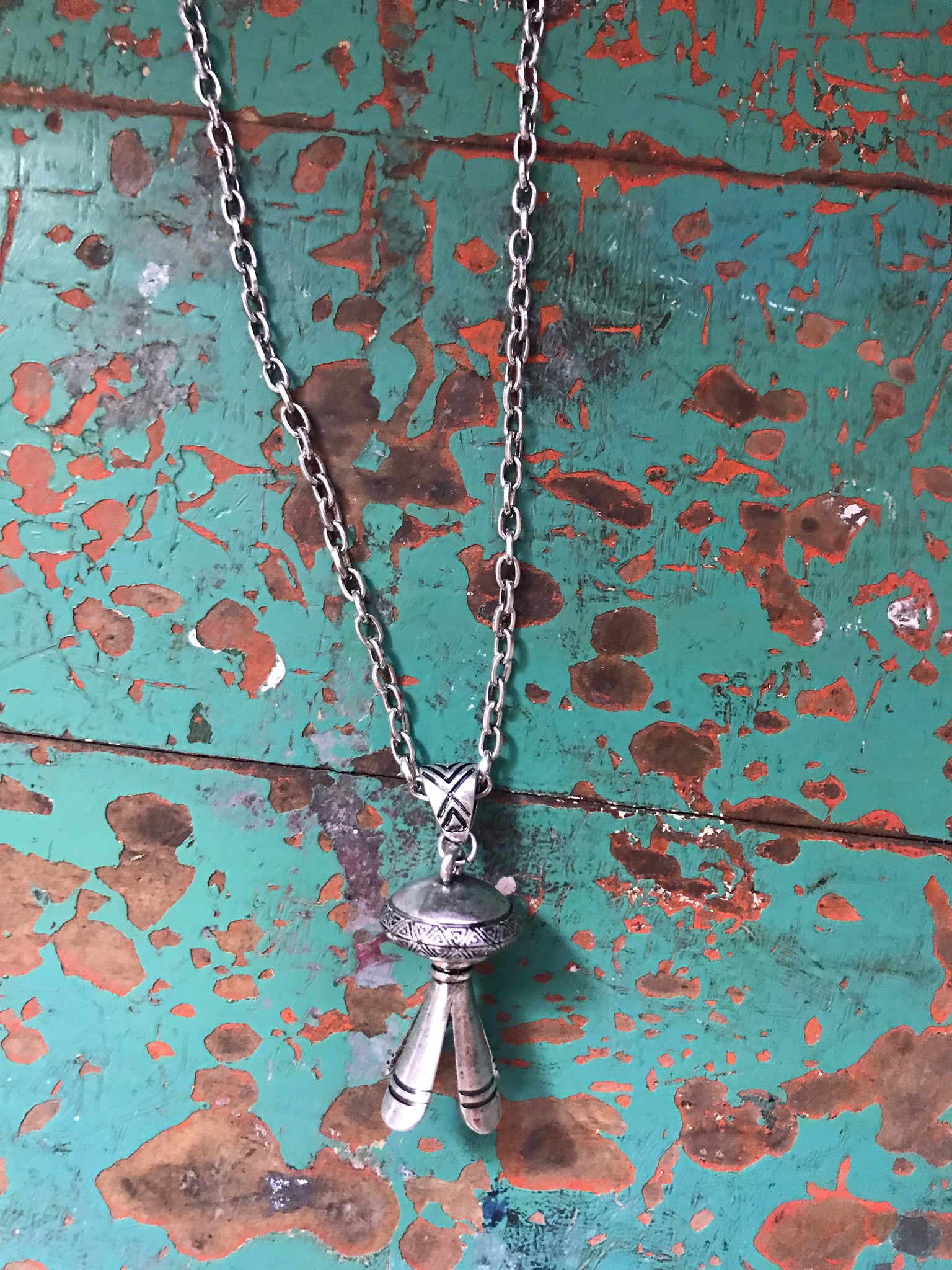 Silver Naja Necklace