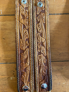 Gentry Tooled Belt Cuff