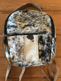 Hair on Hide Small Backpack